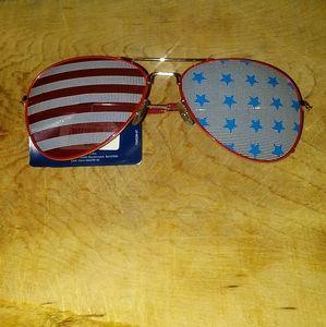 Icon American flag sunglasses